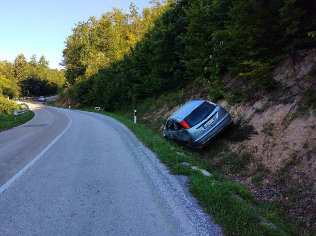 Saobraćajna nesreća Crni vrh