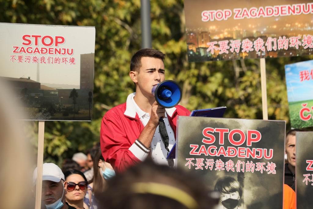 protest bor zagadjenje foto Dragan Novakovic1