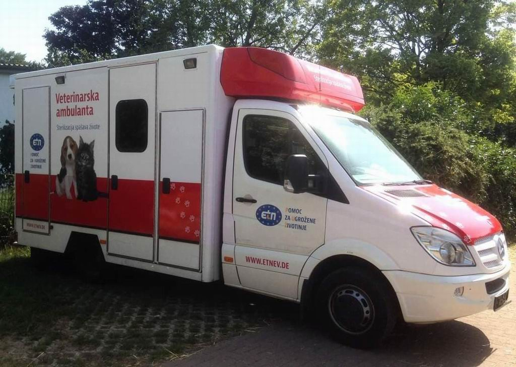 mobilna veterinarska ambulanta