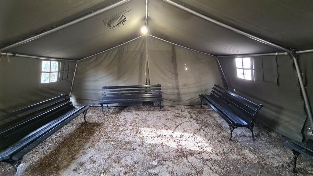 Šatori bez funkcije